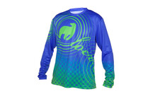 Local Drift DH Jersey Men blue/green